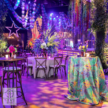 A Luxe, Mardi Gras-Inspired Debutante Party at The Sugar Mill in New Orleans, Louisiana