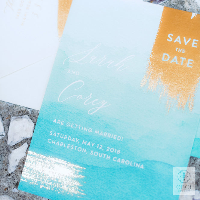 Ceci Tip: How To Write A Save The Date