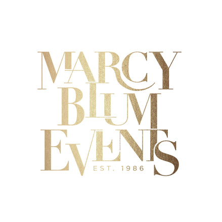 Branding for Marcy Blum Events