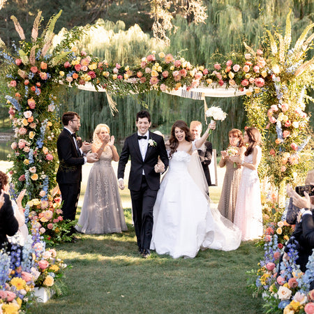 A Floral Filled Garden Wedding At Meadowood in Napa Valley