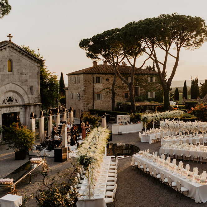 An Old World Italian Wedding At Borgo San Felice In Tuscany