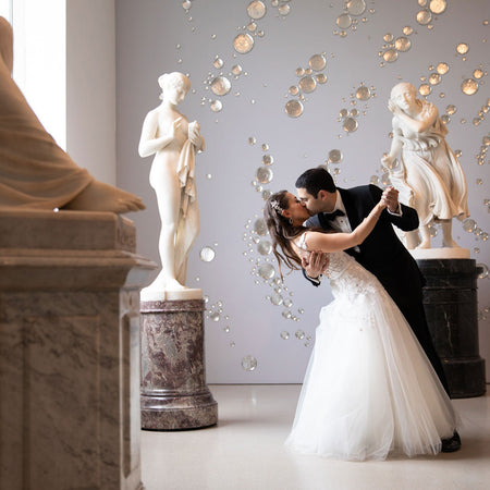 An Elegant Spring Wedding at The Brooklyn Museum With A Modern Touch