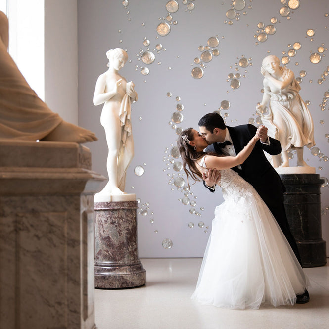 Brooklyn Wedding at museum