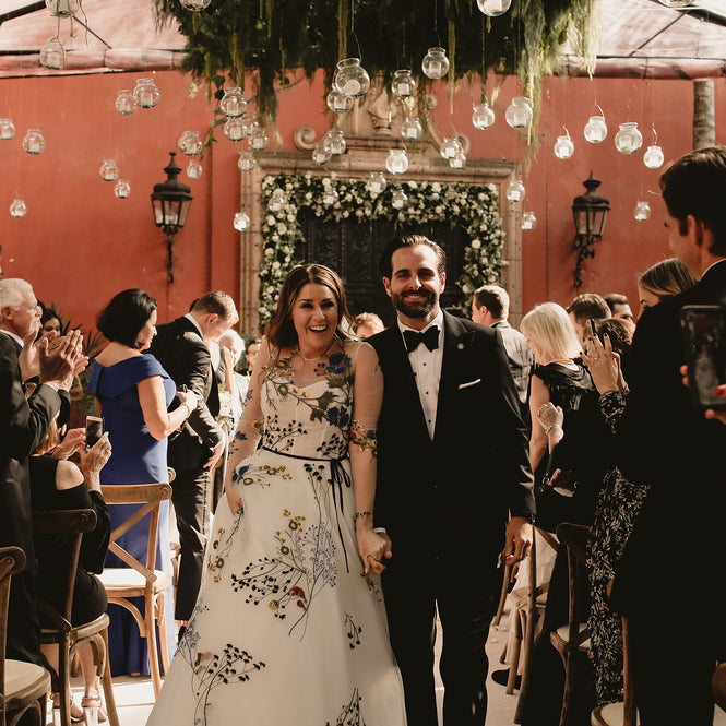 A Vibrant Mexican Wedding At Casa Hyder In San Miguel de Allende