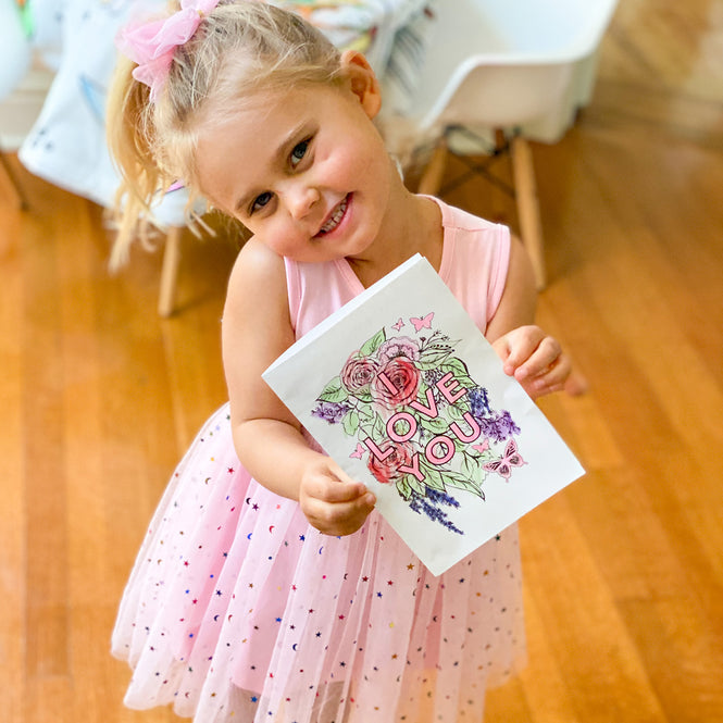 Celebrate Mother's Day and Color in with Ceci: Complimentary Downloadable Cards