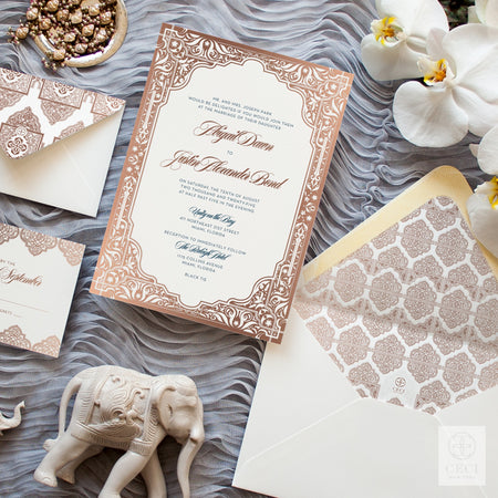 Middle Eastern Wedding Invitation