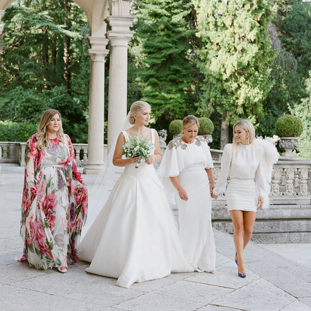 Sarah Hoxha Wedding In Lake Como