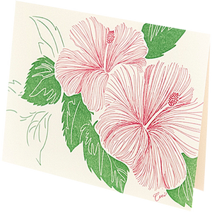 Paradise Notecard and Envelope Set