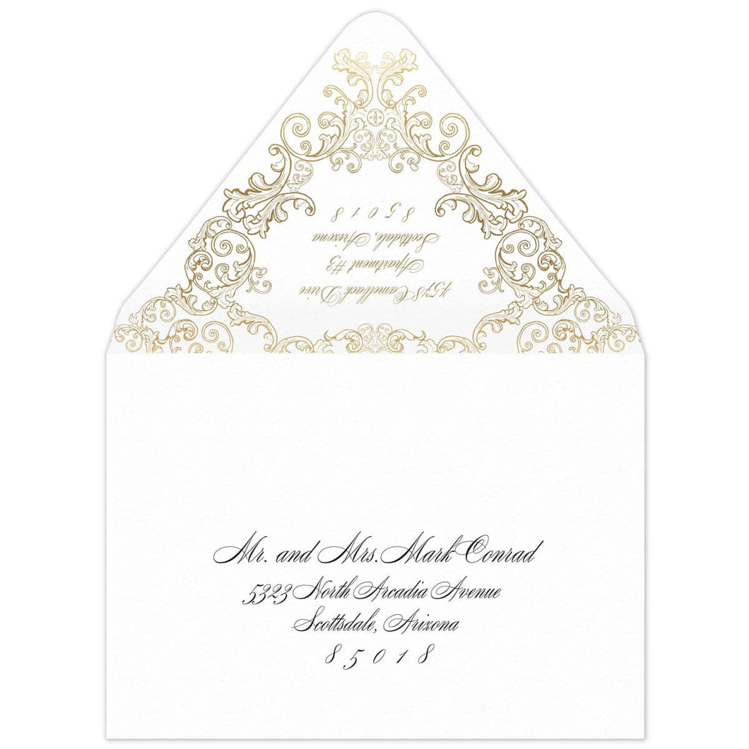 Fanciful Invitation Envelope