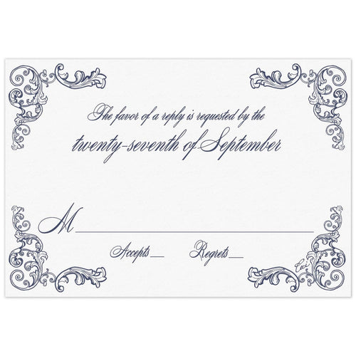 Fanciful Reply Card