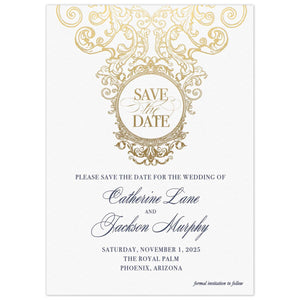 Fanciful Save the Date