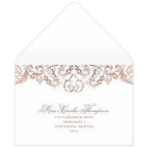 Opulence Reply Card Envelope