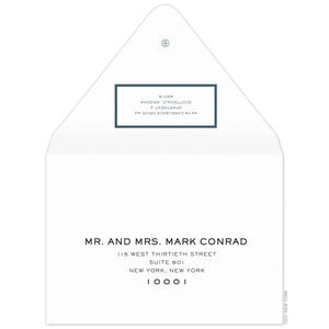 Border Invitation Envelope