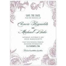 Load image into Gallery viewer, Bouquet Save the Date