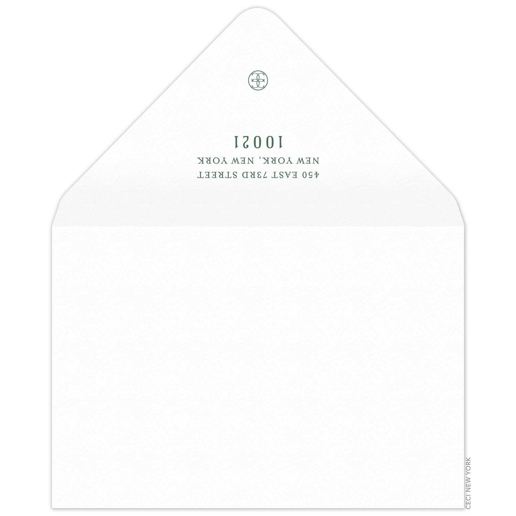 Thank You Card Envelope