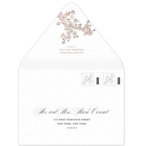 Vines Invitation Envelope
