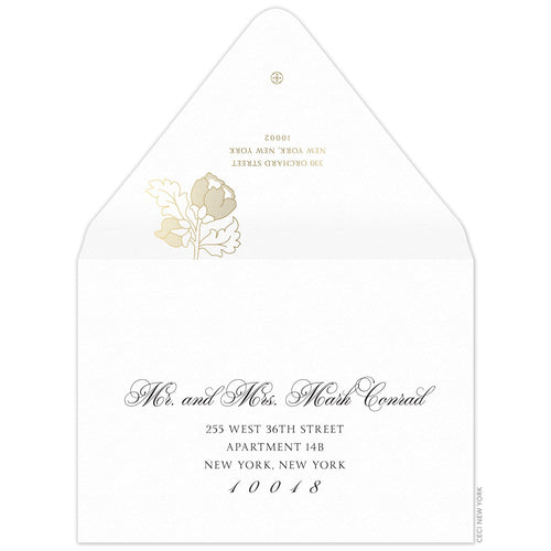 Jane Invitation Envelope