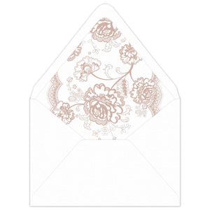 Grace Invitation Envelope Liner