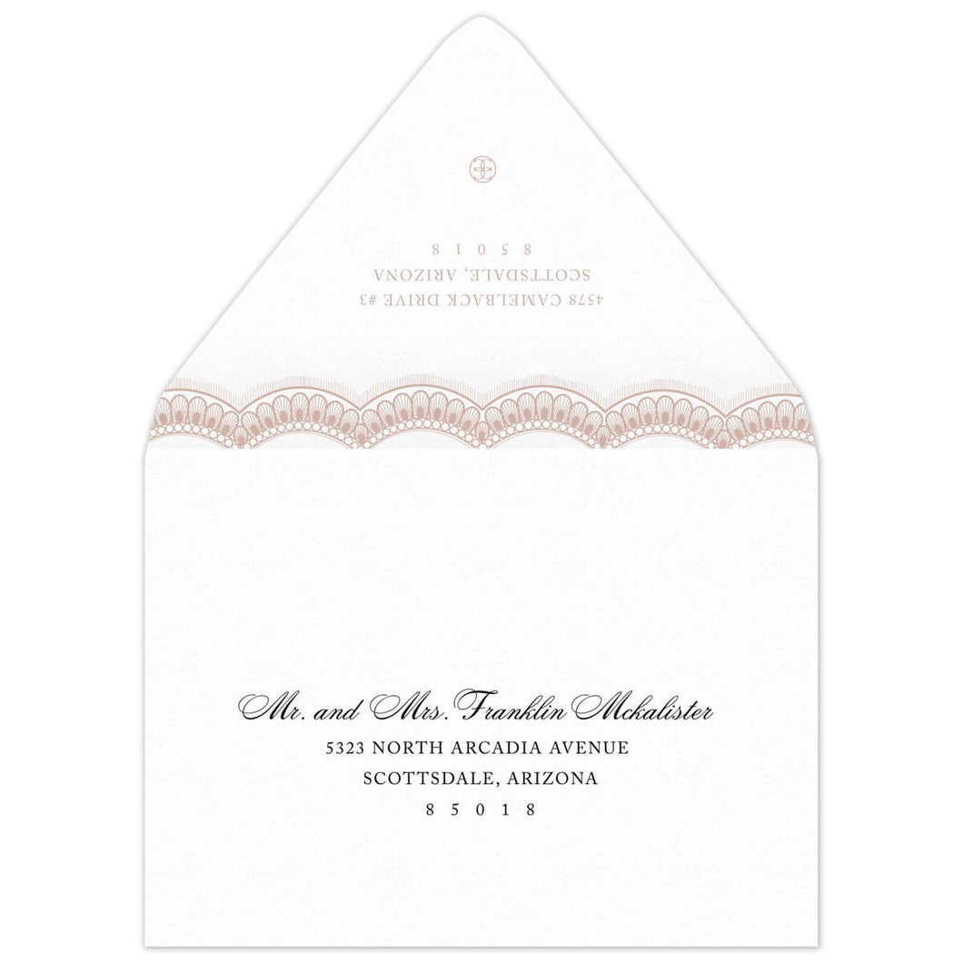 Grace Save the Date Envelope