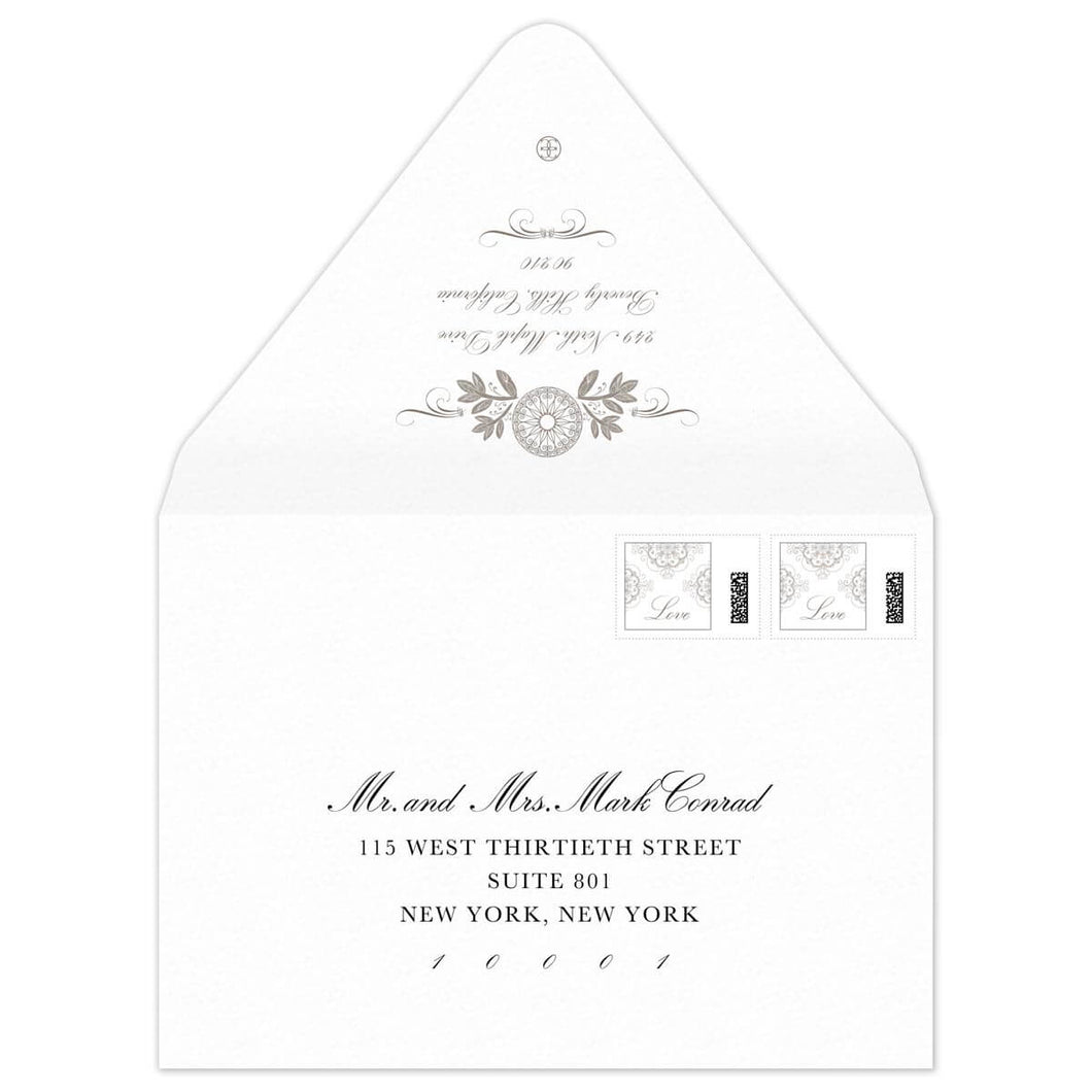 Ann Invitation Envelope