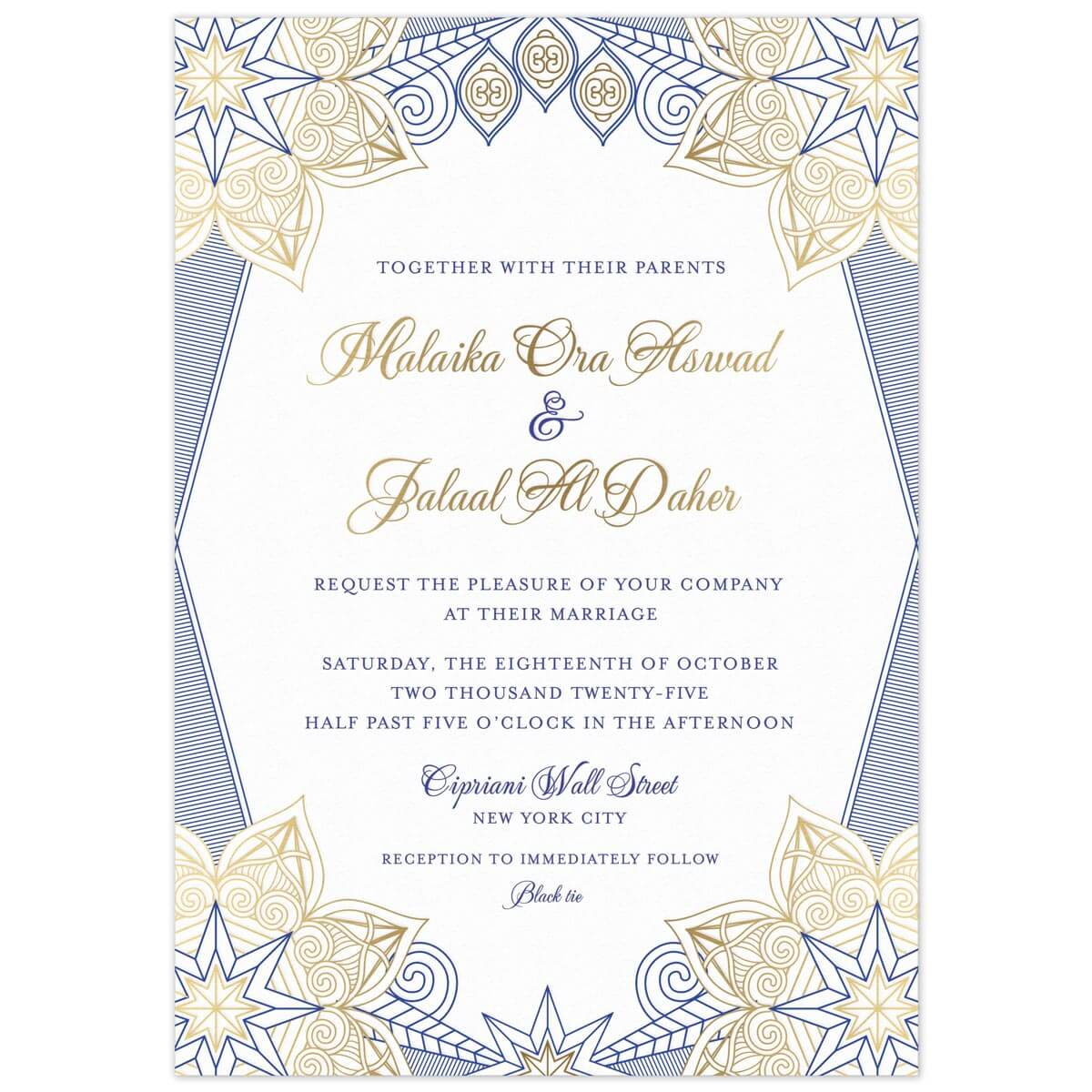 Leila Invitation