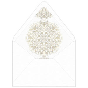 Leila Invitation Envelope Liner