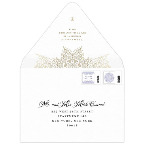Amira Invitation Envelope