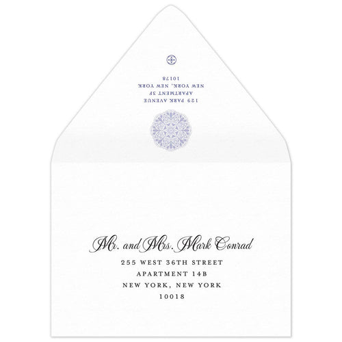 Leila Save the Date Envelope