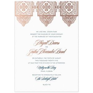Alia Invitation