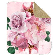 Load image into Gallery viewer, Pink Peony Blanket