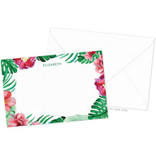 Load image into Gallery viewer, Hibiscus Palm Border