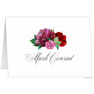 Bouquet Tented Escort/Place Card