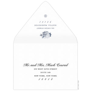 Bouquet Save the Date Envelope
