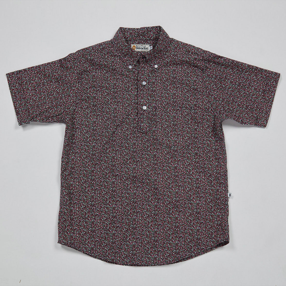 Pull Over Button-down Shirt I (Midnight)