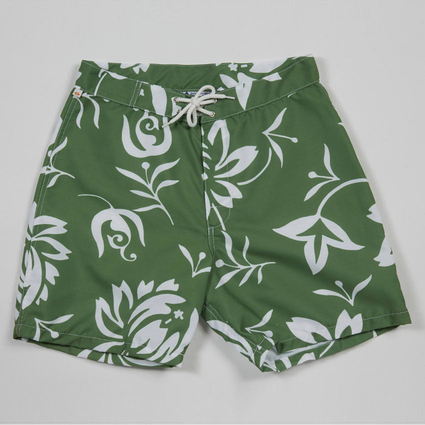 Surfing Hollow Days Trunks I (Green)
