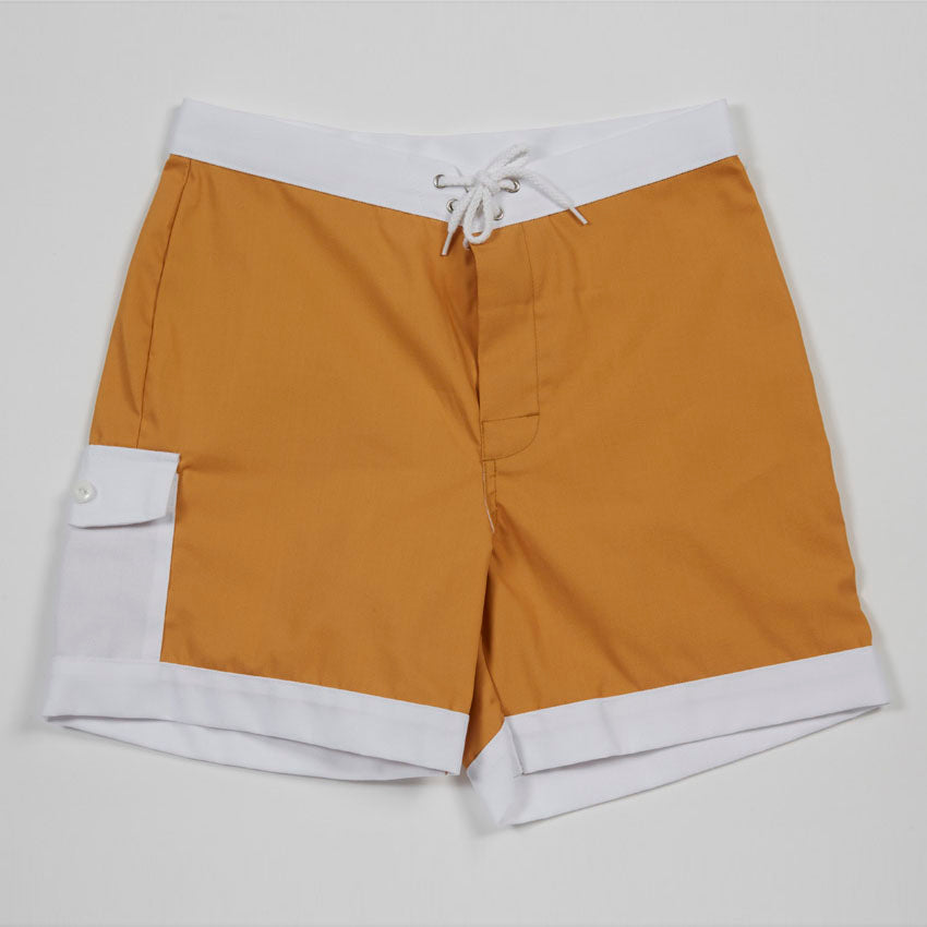 Hawaiian Holiday Trunks (Gold)