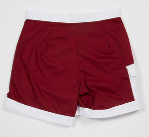 Hawaiian Holiday Trunks (Wine)