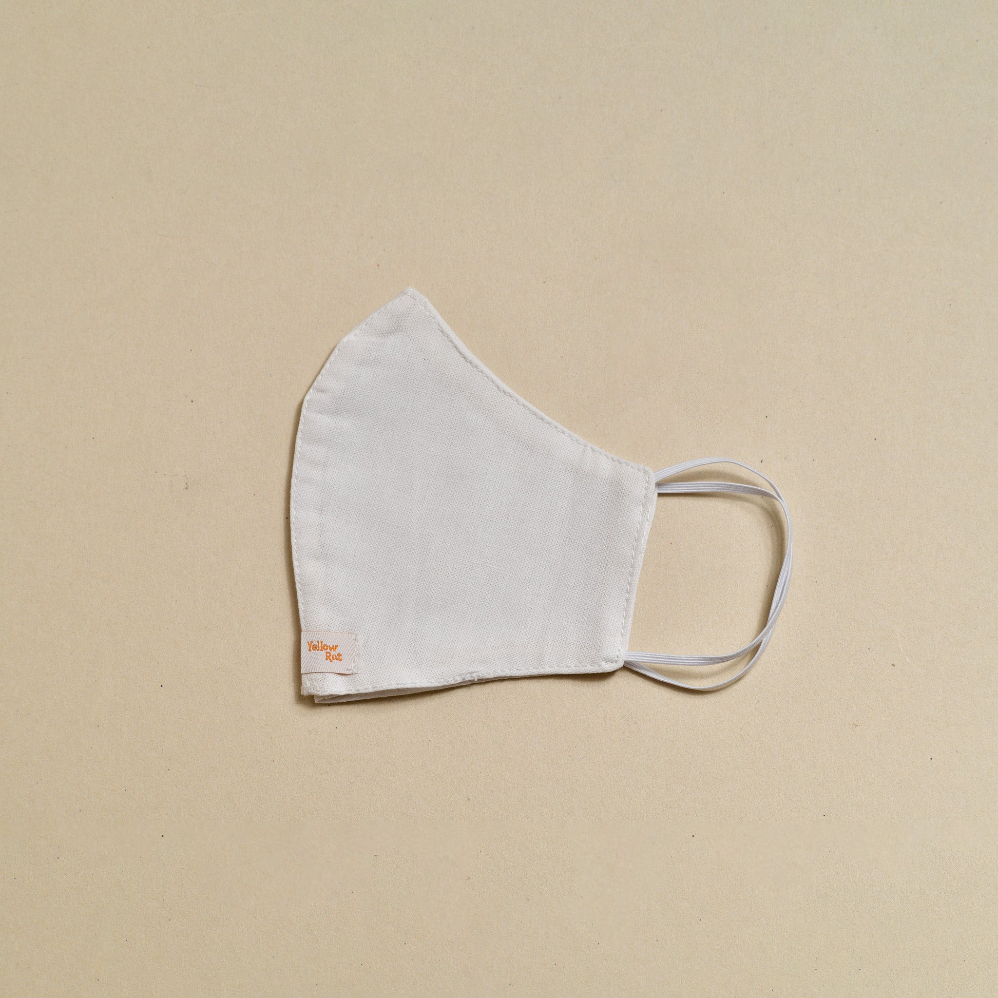 Cloth Face Mask (White with Loop Tag)