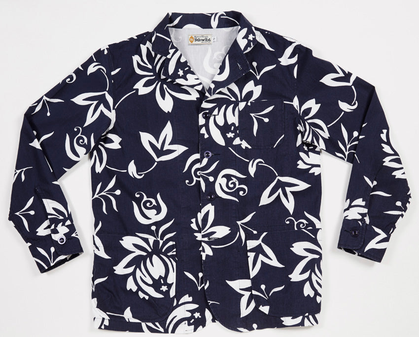 Super Casual Sportscoat (Hawaiian Print)