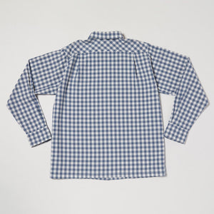 Round Collar Long Sleeve Shirt II (Denim)