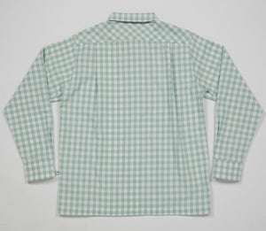 Round Collar Long Sleeve Shirt I (Sage)