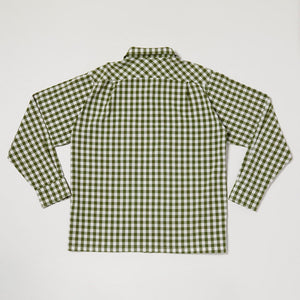 Round Collar Long Sleeve Shirt II (Avocado)