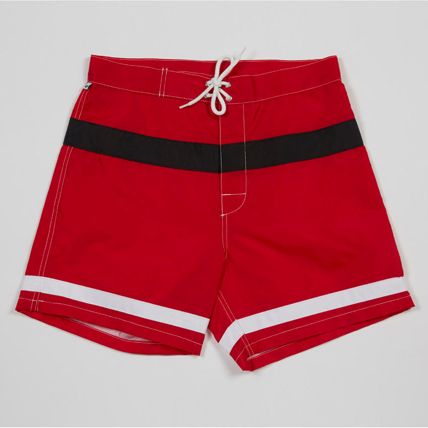 Windansea Surf Club Trunks (Red)