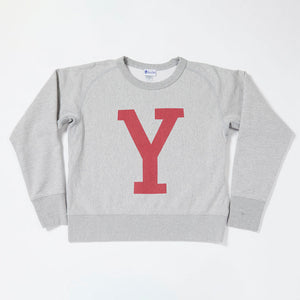 Lettered Sweatshirt (Heather Gray)
