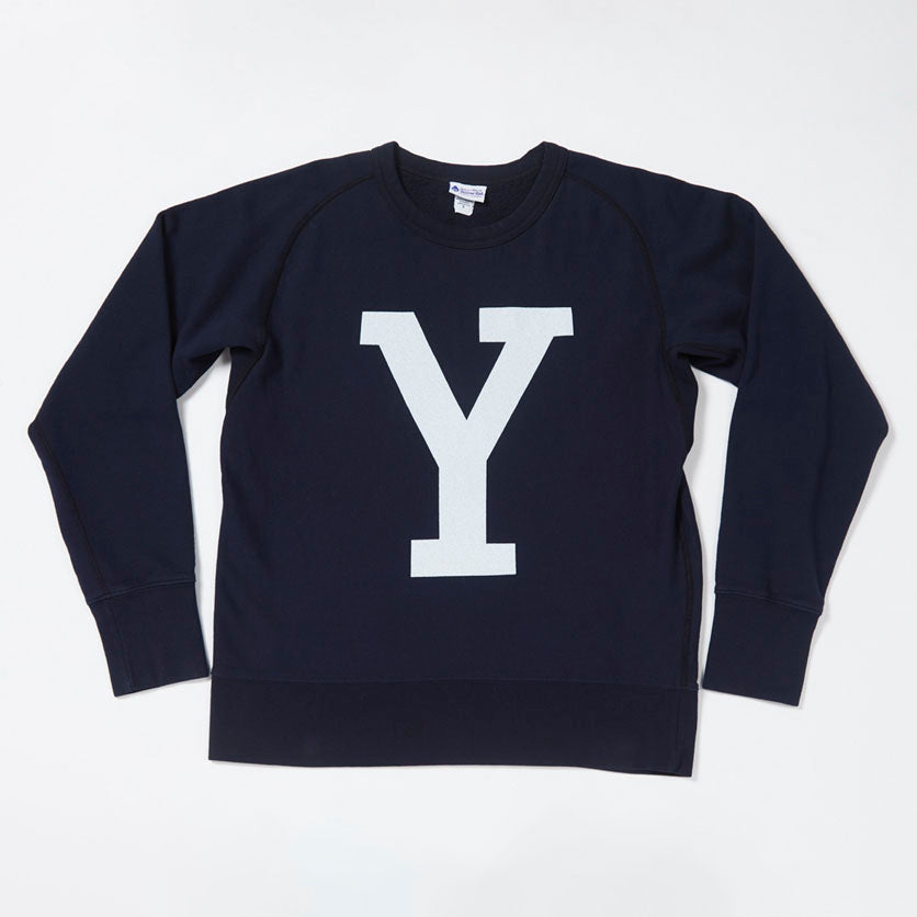 Lettered Sweatshirt (Navy)