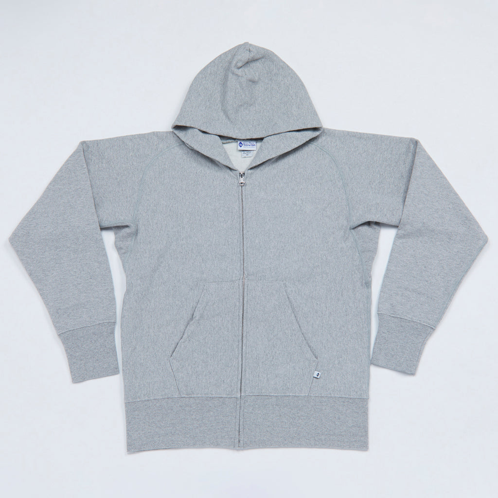 10 oz. Hooded Sweatshirt (Heather Gray)