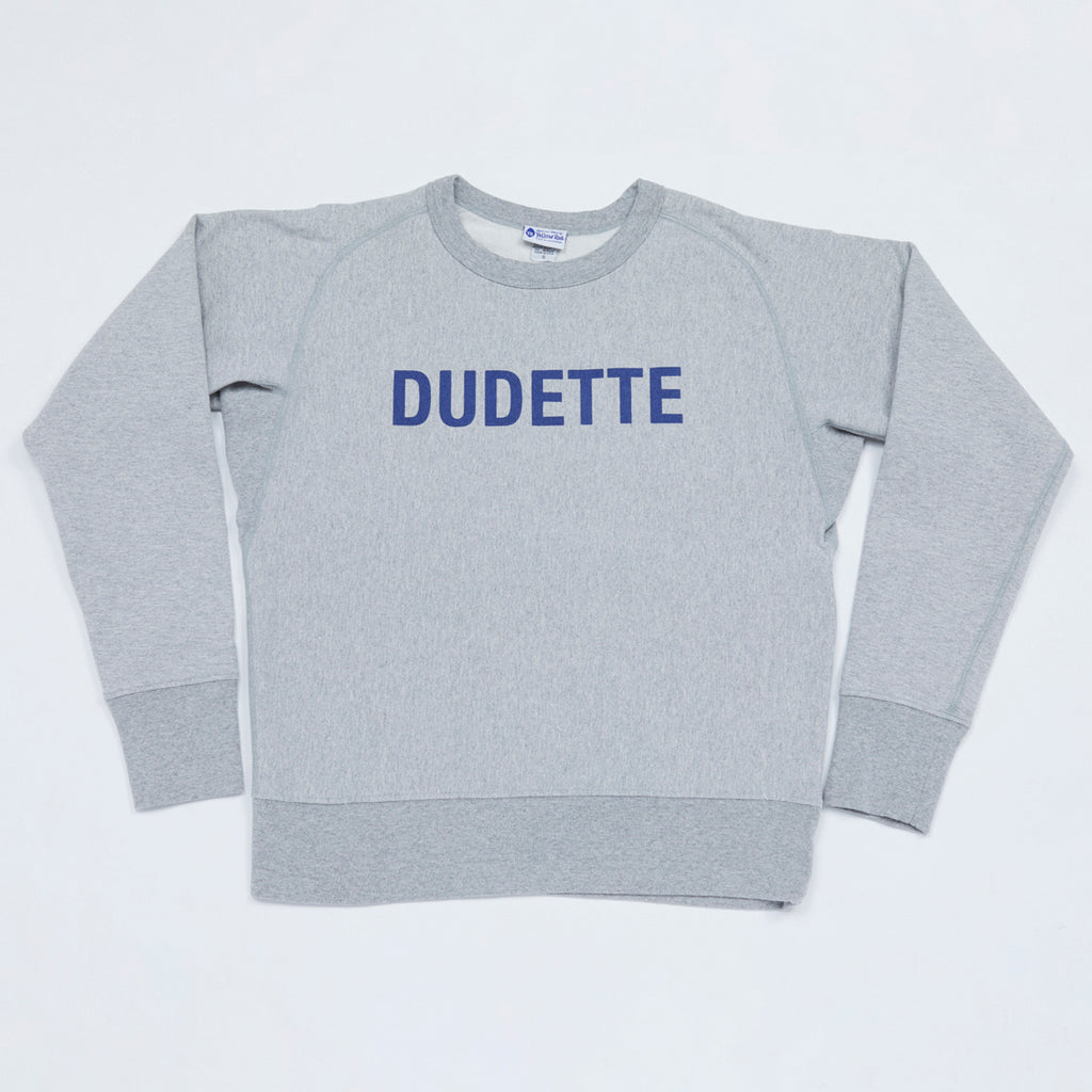 DUDETTE Sweatshirt (Heather Gray)