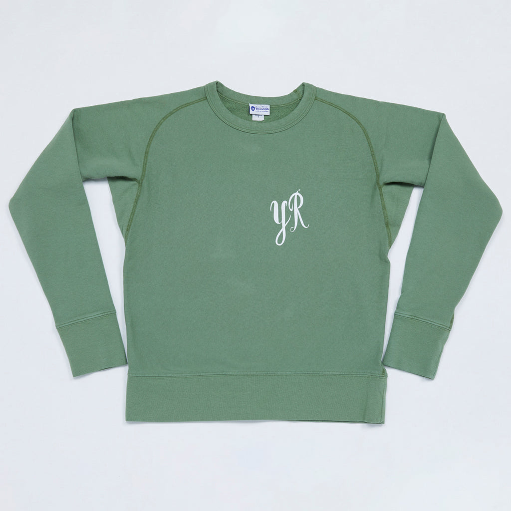 YR by Barry McGee Sweatshirt (Green)