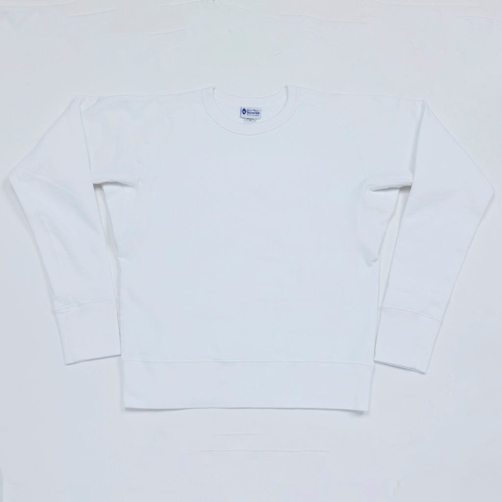 10 oz. Crew Neck Sweatshirt II (White)