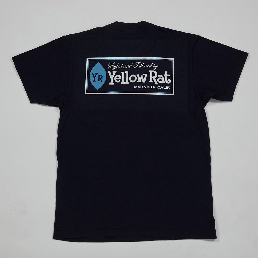 Classic Box T-shirt I (Navy)
